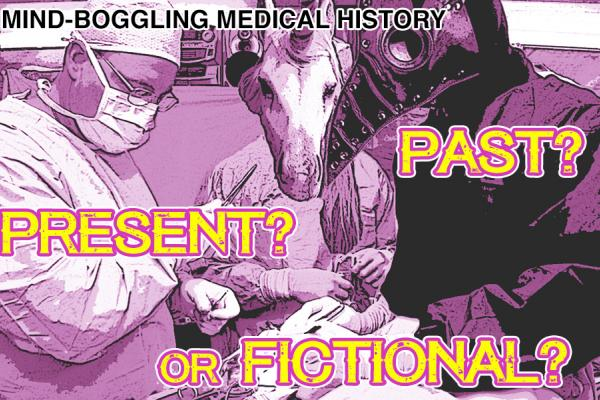 Surgeon, plague doctor, and unicorn